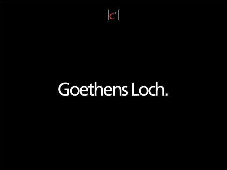 Goethens Loch.