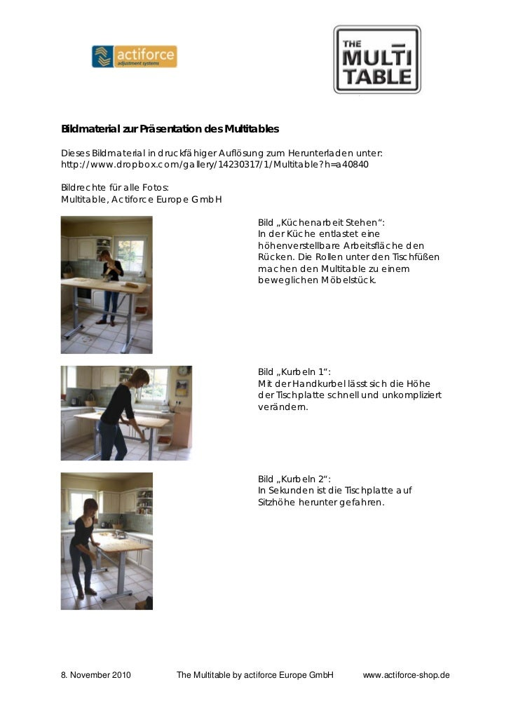Bildmaterial zur Präsentation des MultitablesDieses Bildmaterial in druckfähiger Auflösung zum Herunterladen unter:http://...