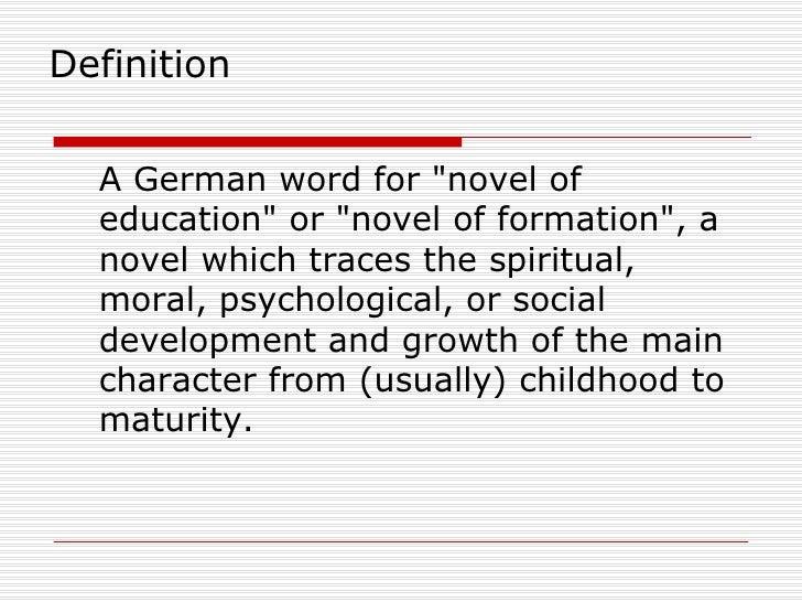 Bildungsroman