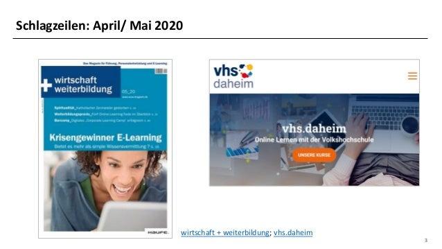 Blended, Video, Mobile, Micro: Trends in der digitalen Weiterbildung Slide 3