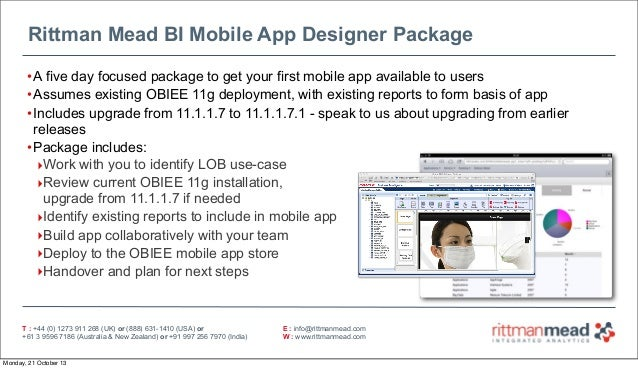 Mobile App Designer - BI Leaders' Forum 2013