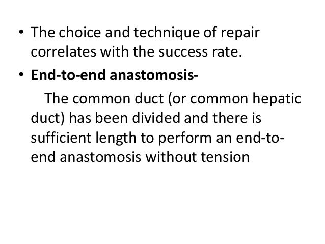 • Metalic stents are more durable than plastic stents • Endoscopic dilation also has a low mortality rate, but it has a si...