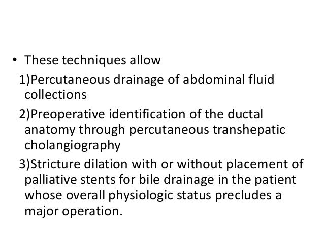 Bile duct injuries