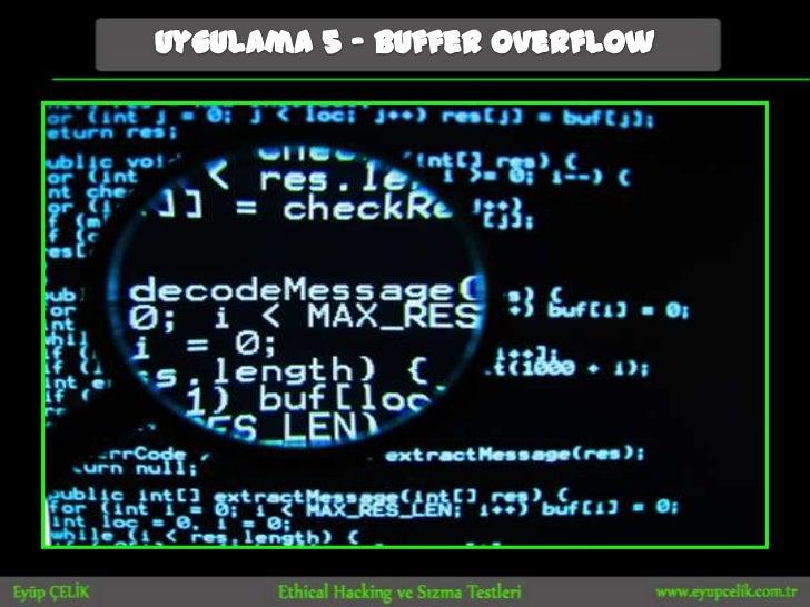 Bilge adam beşiktaş şube ethical hacking ve sızma yöntemleri etkinliği