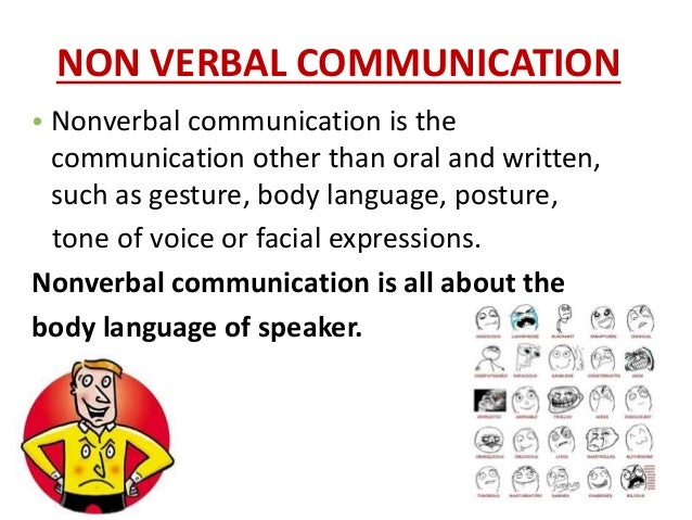 gestures and facial expressions in communication