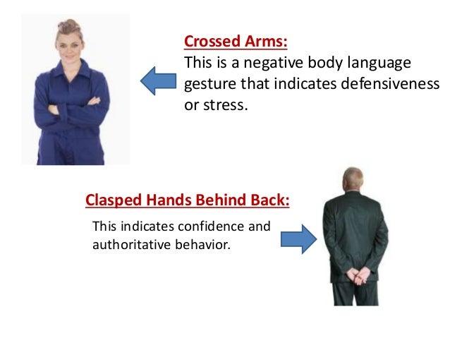 negative body language