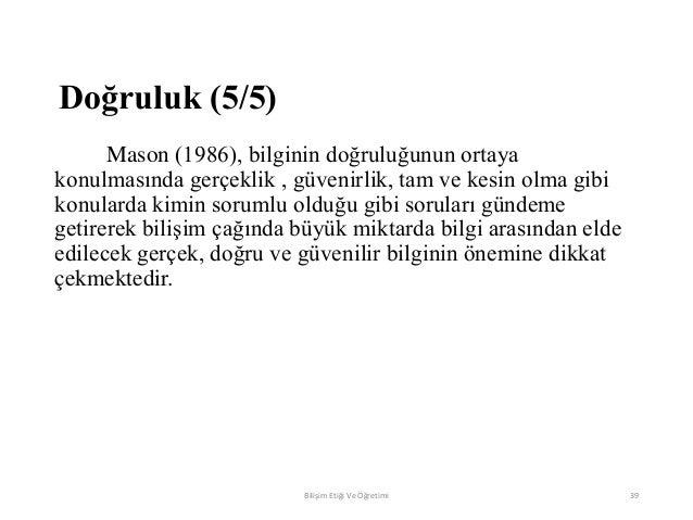 Gnoseoloji bilginin öğretimi 43
