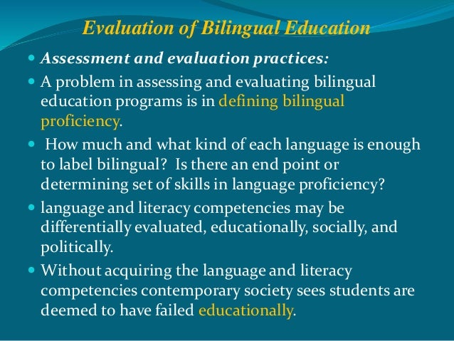 a study on transitional bilingual education programs Dual language education is an effective approach to developing language proficiency and literacy  bilingual and dual language programs promote bilingualism and.