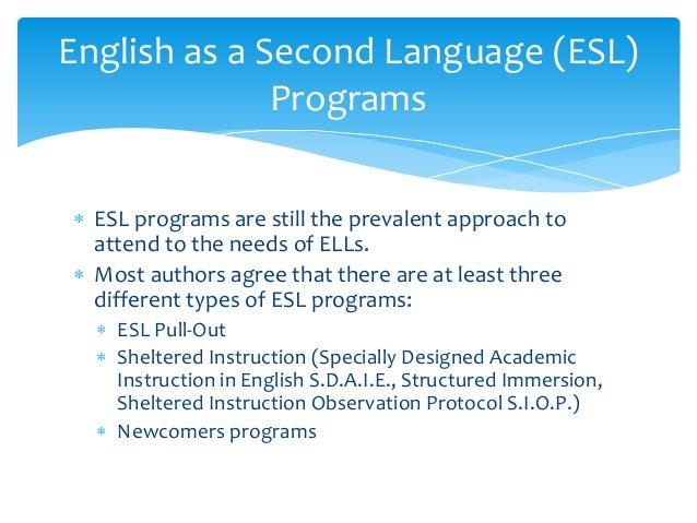 Bilingual Esl Models Coto