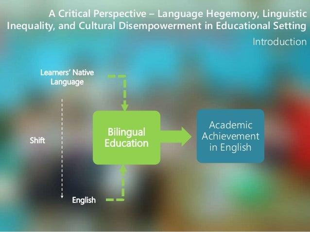 multicultural education english american culture and bilingual education The center for bilingual and multicultural education us department of education, office of english language acquisition the role of language and culture in american indian education: https.