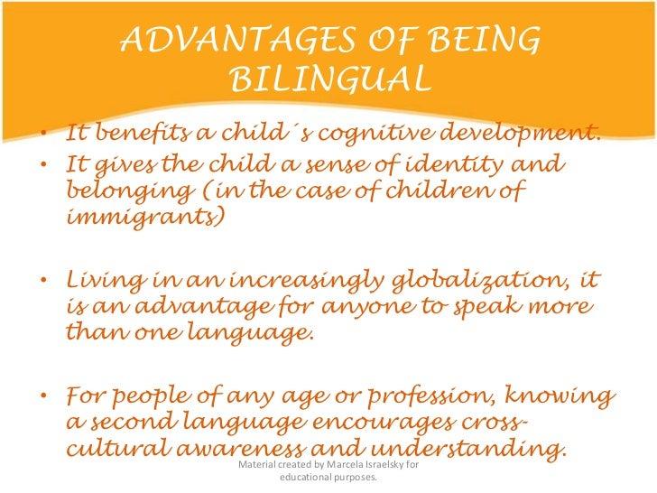 The Advantages of Bilingual Education