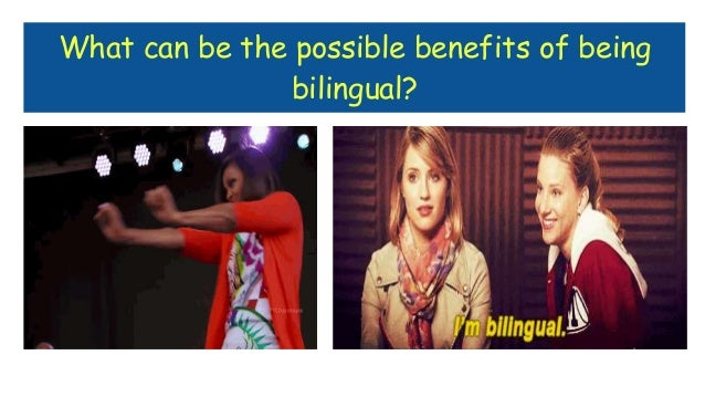 advantages of being bilingual How being bilingual can benefit your career  it is clear that there is a pervasive and widely-held belief that being bilingual is of great career value within canada.