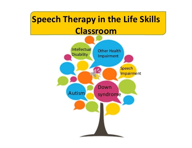 communication speech therapy Speech therapy speech and language pathologists offer the highest level of individualized articulation, swallowing, language, cognitive, feeding, voice and social communication services a strong literacy-based instruction (see tutoring) is used to facilitate organization, and written language skills.