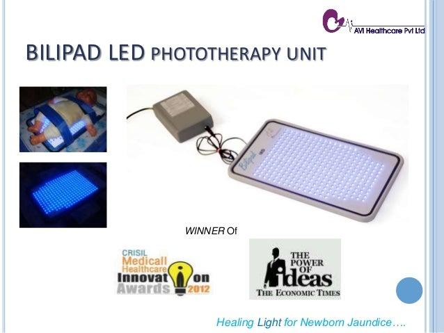 BILIPAD LED PHOTOTHERAPY UNIT WINNER Of Healing Light for Newborn Jaundice….