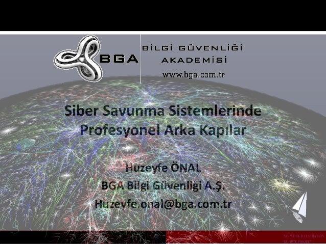 Siber  Savunma  Sistemlerinde  Profesyonel  Arka  Kapılar  BGA  Bilgi  Güvenliği  A.Ş.  Huzeyfe.onal@bga.com.tr  E-‐Crime...