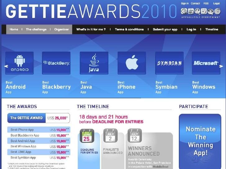 Getties Awards     22