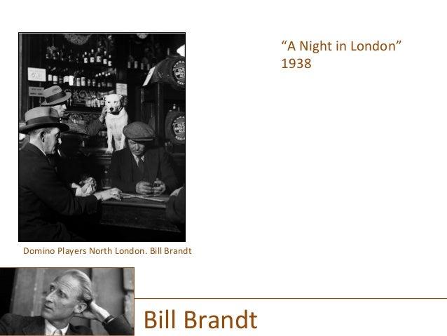 """A  Night  in  London""   1938      Bill  Brandt   Domino  Players  North  London.  Bill  Brandt..."