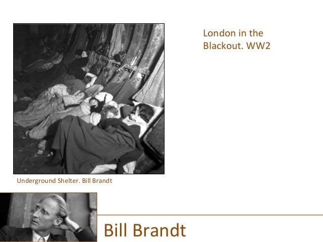 London  in  the   Blackout.  WW2      Bill  Brandt   Underground  Shelter.  Bill  Brandt
