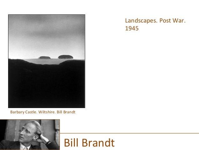 Landscapes.  Post  War.   1945      Bill  Brandt   Barbary  Castle.  Wiltshire.  Bill  Brandt