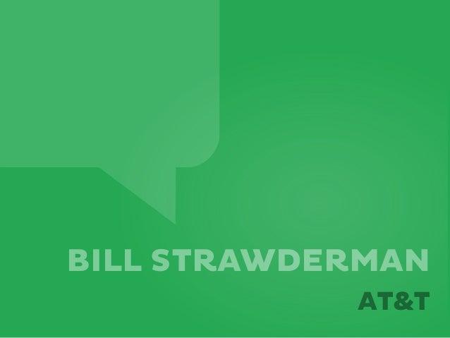 BILL STRAWDERMANAT&T