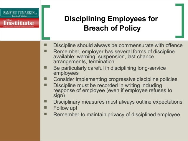 progressive discipline employeelabor relations essay What is progressive discipline when an arbitrator decides whether to sustain or overturn a disciplinary action, he/she considers a number of factors one of those factors is whether the level of discipline that was taken was appropriate under the circumstances.