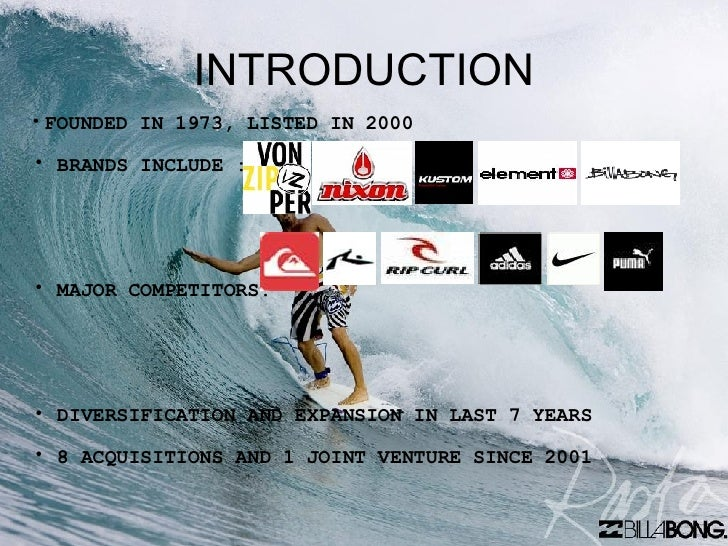 industry analysis billabong Hang toes surfing surf clothing and sportswear business plan market analysis summary hang toes surfing will be a new player in the surf wear and active wear industry.