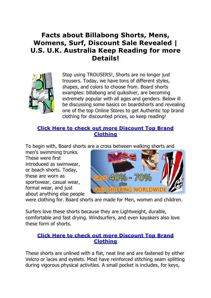 Billabong Clothes Online Australia
