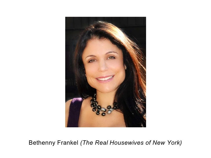Bethenny Frankel  (The Real Housewives of New York)