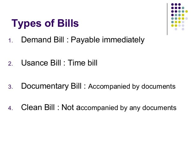Bill discounting (1)