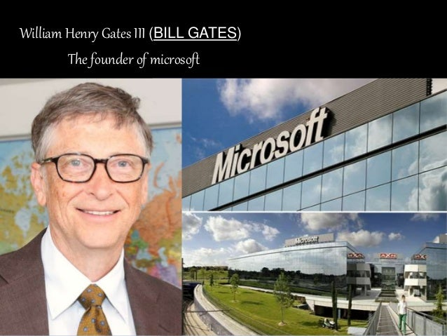 william henry gates iii biography
