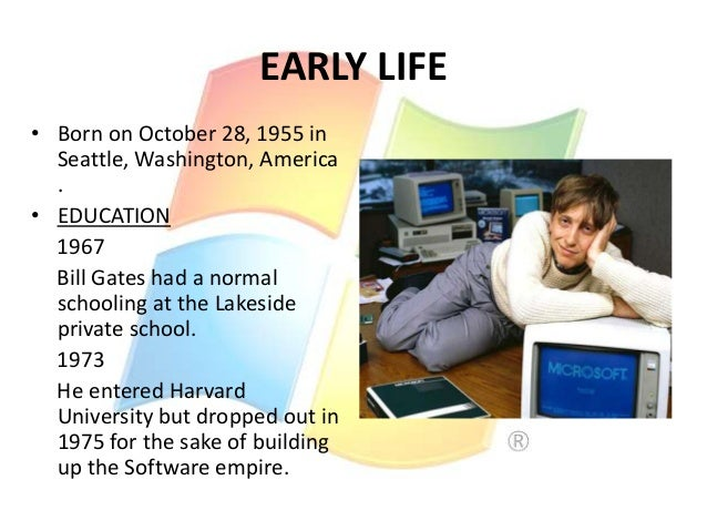 personality traits of bill gates Gates and his wife invited joan salwen to seattle to speak about what the family  had done, and on december 9, 2010, bill.