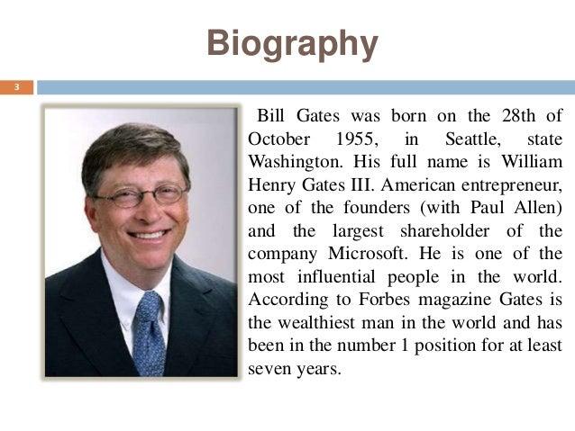 bill gates life biography