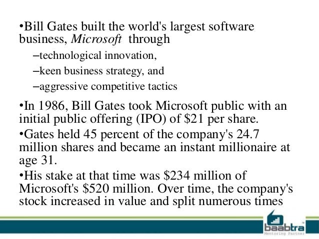 the contribution of bill gates The technology behind quora for one and most other cybernetic approaches and constructions based on microsoft as well.