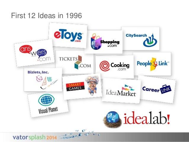 First 12 Ideas in 1996