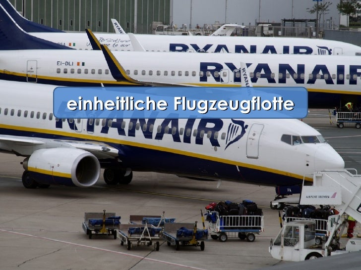 einheitliche Flugzeugflotte