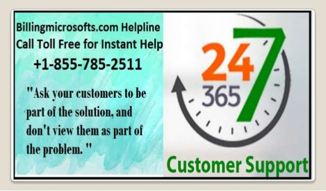 microsoft billing support phone number