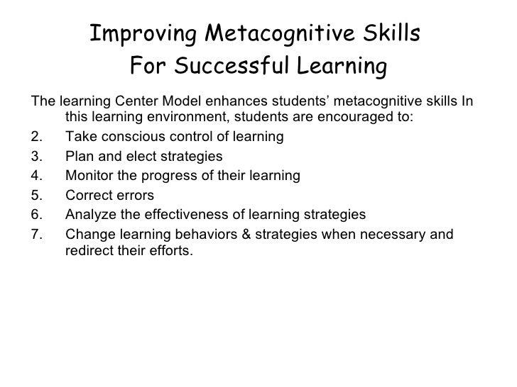 Learning Center Model