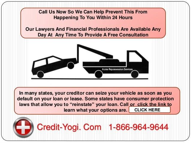 Loan To Stop Car Repossession