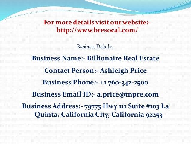 Billionaire real estate