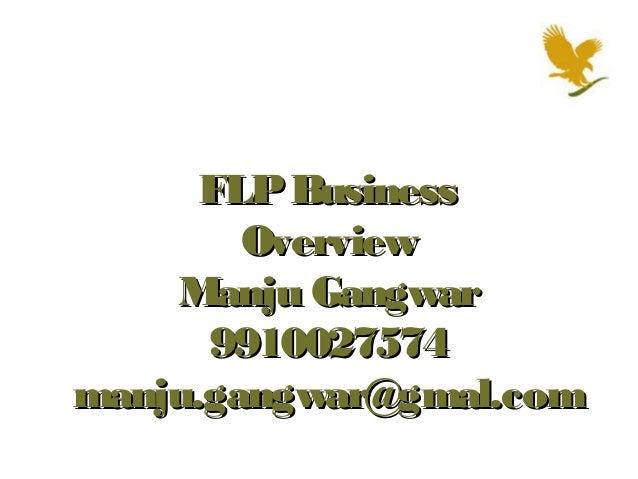 FLP Business        Overview    Manju Gangwar      9910027574manju.gangwar@gmal.com