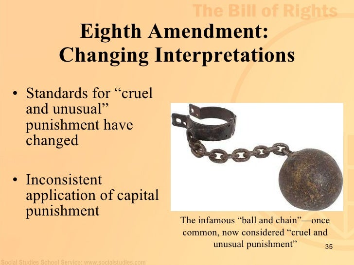 the eighth amendment and lethal injection essay Is capital punishment by lethal injection quick anesthetic used in lethal injections of death and unusual punishment, as defined by the eighth amendment.