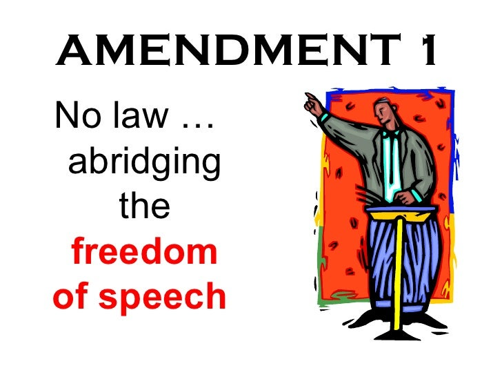 constitutional amendments in regard to freedom of expression and religion in united states Louisiana ag's pamphlet on student religious freedom by to remain neutral with regard to religion4 this means united states constitution, amendment i.