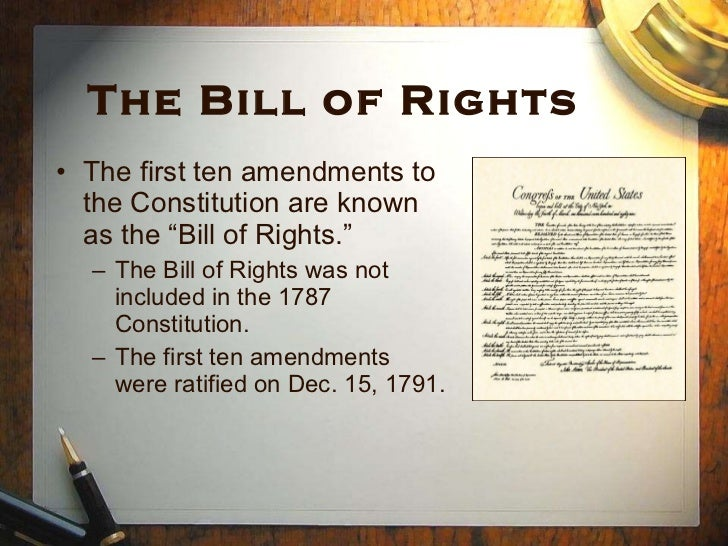 is a bill of rights wrong essay The bill of rights is (click the link below to view the full essay by books on the topic of this essay may be found in the imaginative conservative.