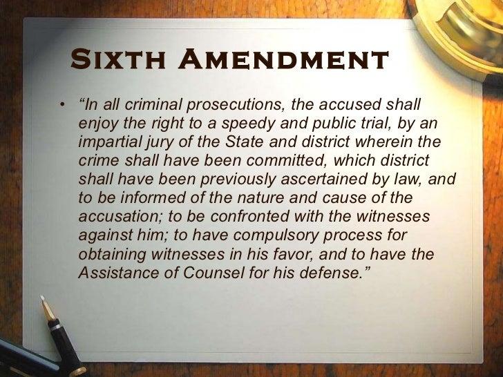 22 Sixth Amendment