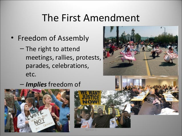 examples of freedom of association