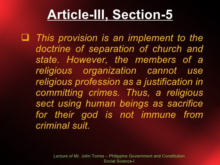 philippine constitution article iii essay