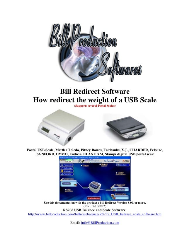 USB Balance and Scale Software The perfect solution to