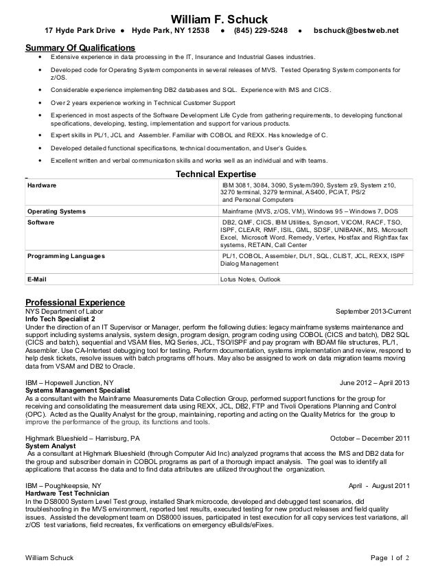 Programmer Resume Samples VisualCV Resume Samples Database Computer  Programmer Resume Examples To Impress Employers Image NameComputer