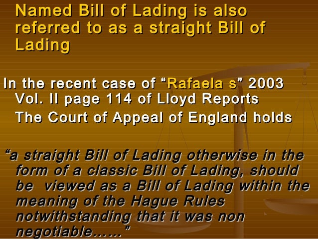 how to make a bill of lading