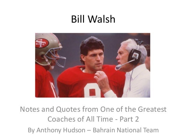 Bill Walsh 8 x 10 8x10 GLOSSY Photo Picture IMAGE #2